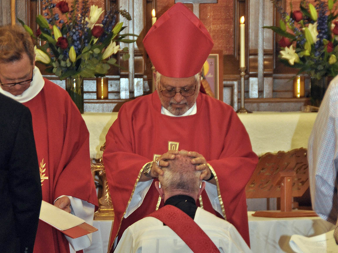Fr. Harry's Ordination by Bishop Tony